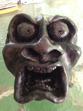 """This is a piece I did my senior year in High School Titled """"STRESS"""" medium is Clay"""