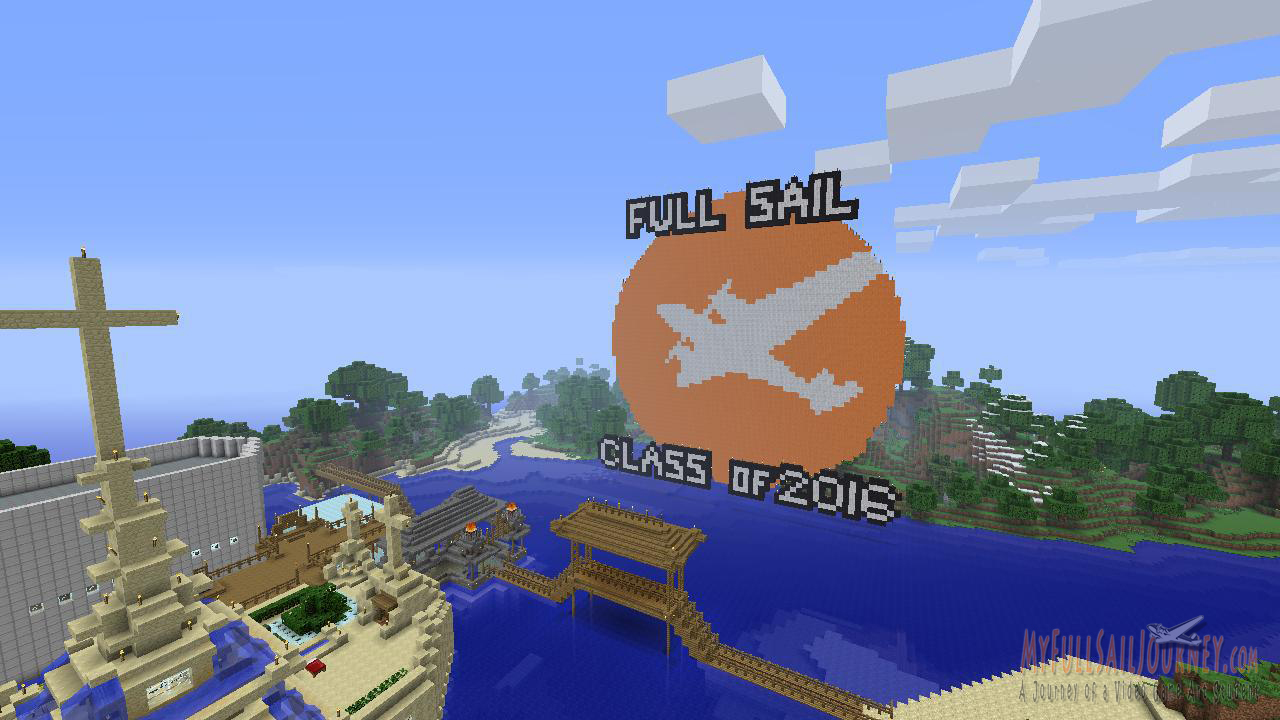 full sail university logo minecraft xbox 360 edition