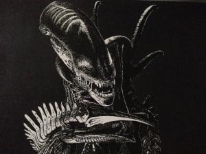 """""""Alien"""" Noir High Contrast (Sin City Style)"""