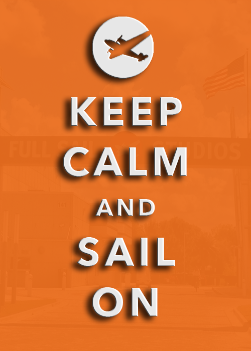 Kep Calm and Sail On